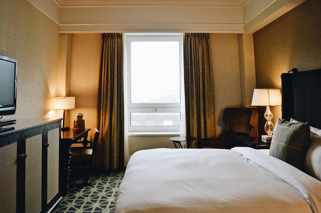 Hotel Room with Mountain View | Fairmont Banff Springs Castle Hotel Gay-Friendly © CoupleofMen.com