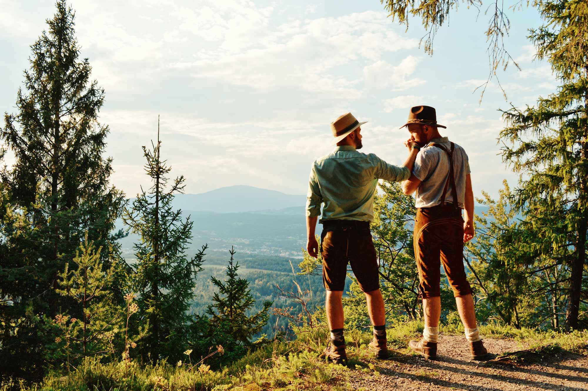Gay Couple Travel Guide Carinthia Southern Austria