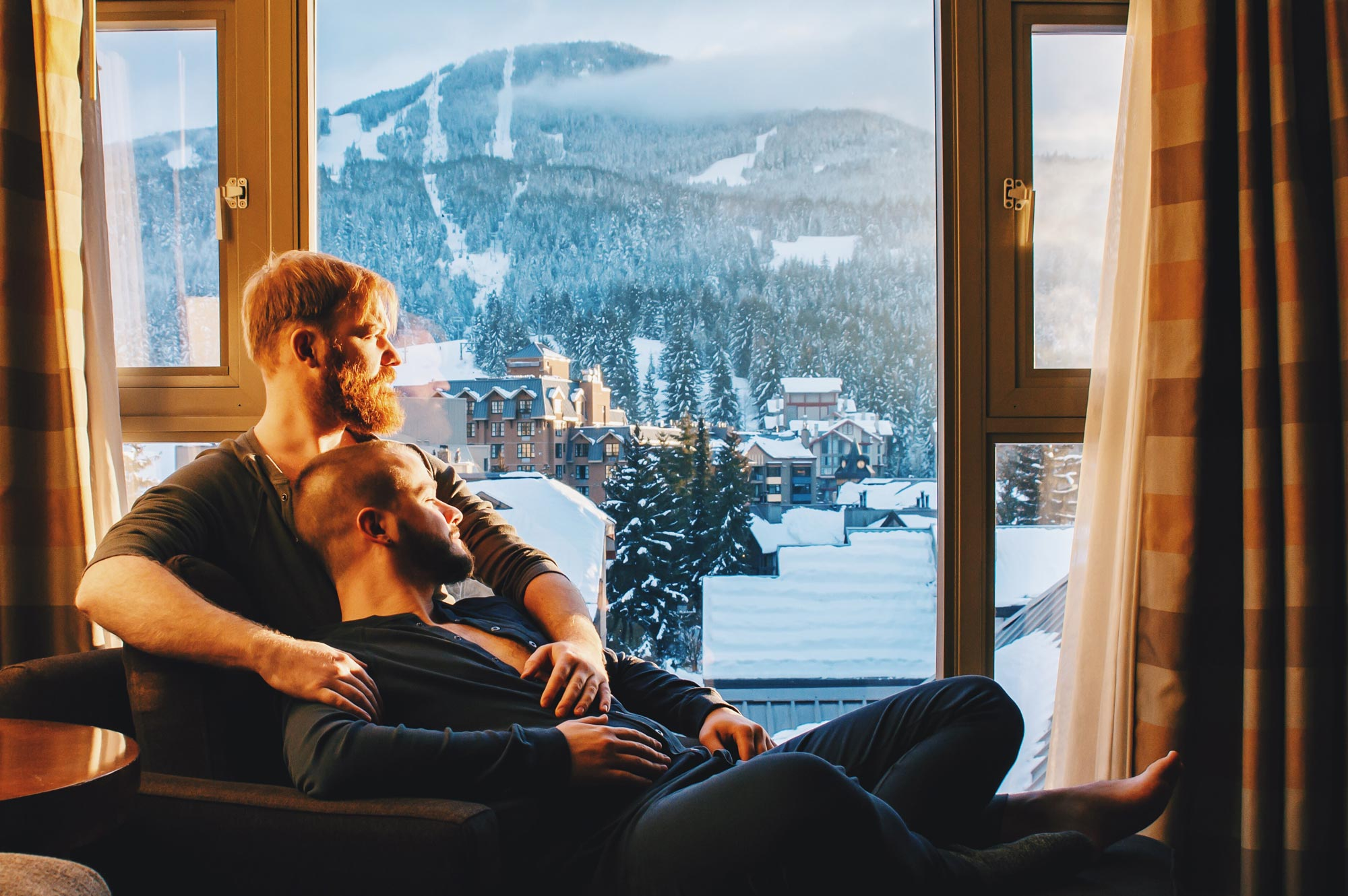Whistler Pride Ski Festival Whistler Pride Gay Skiwoche Whistler Pride Gay Skiwoche Couple of Men - Winter Trip to Canada for Whistler Pride and Ski Festival 2019 © Coupleofmen.com