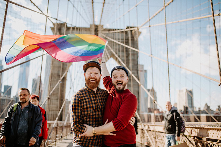 Gay Travel Guide New York City © coupleofmen.com
